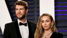 Miley Cyrus et Liam Hemsworth