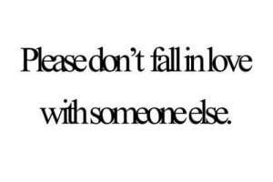 amoureux de quelqu'un d'autre